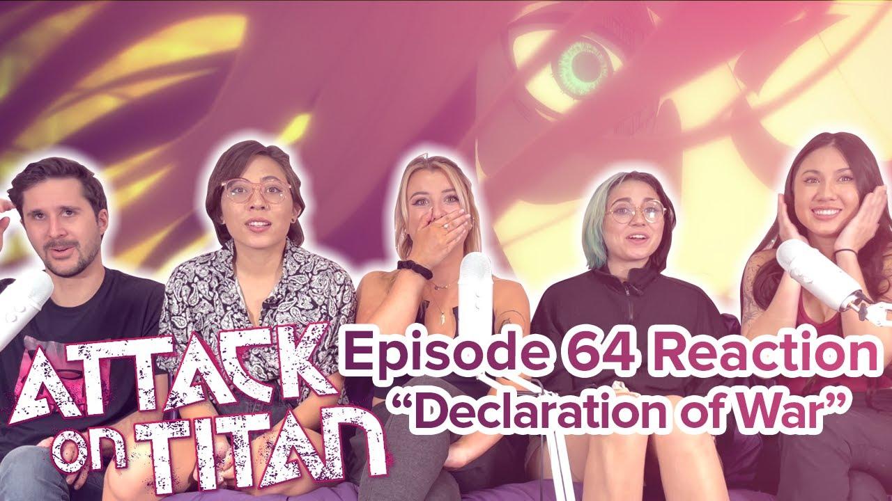 Attack on Titan - Reaction - S4E5 - Declaration of War