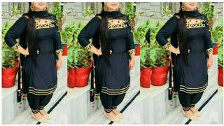 Top Punjabi Black Suits Designs !! Black Patayala Salwar suits Designs !! Black Suits Designs ideas