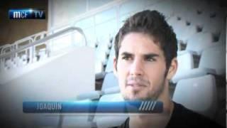 Málaga Club de Fútbol Televisión. Domingo 20/11/11. Entrevista Isco