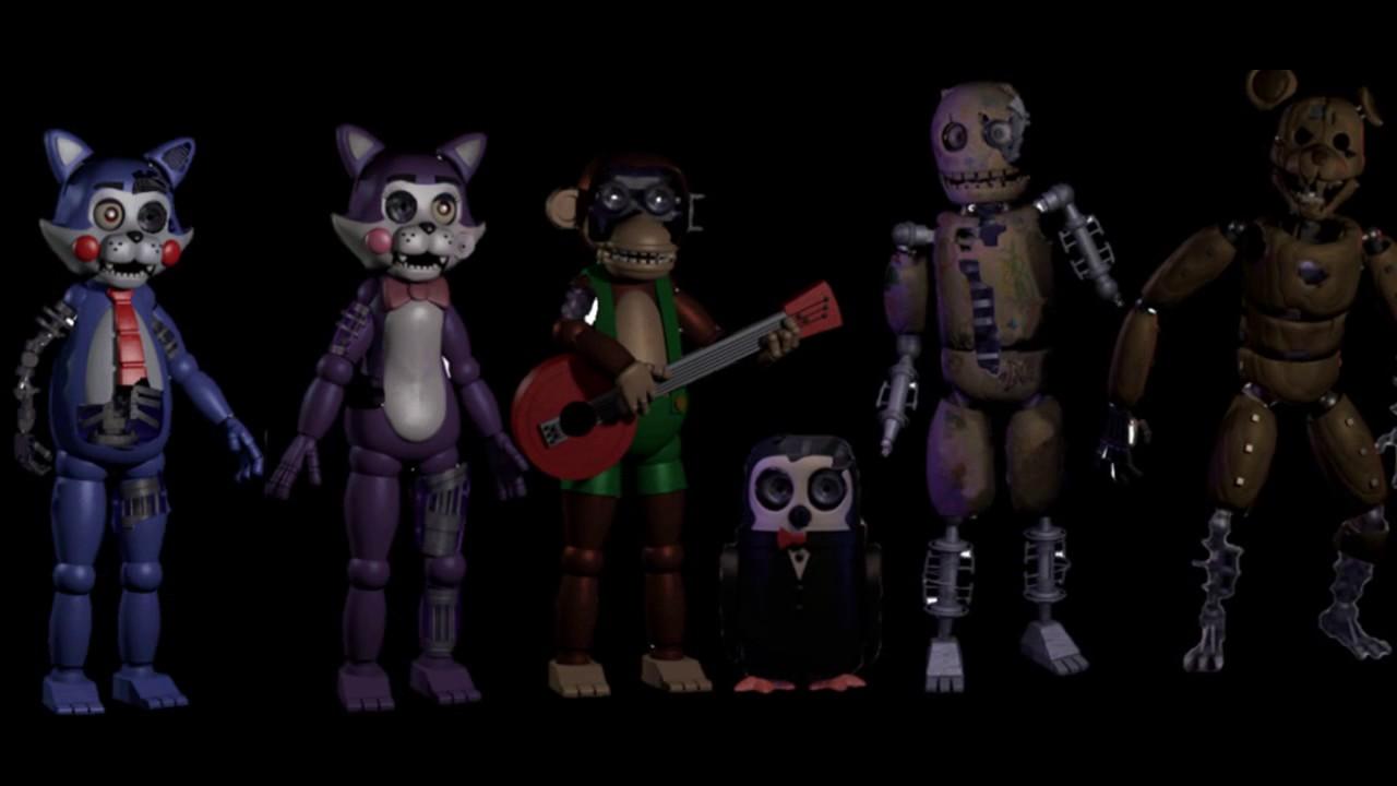 пять ночей с кэнди картинки персонажей инвалид стал индивидуальным