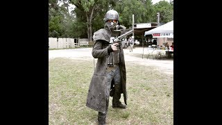 FALLOUT COSPLAY: NCR RANGER Invades Fallout AIRSOFT LARP