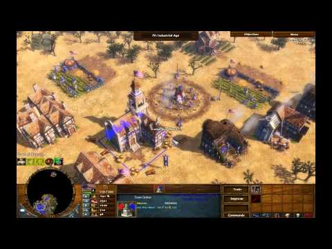 Ambushed! - Age of Empires 3 The Warchiefs - Act 2 Mission 4 - Hard Walkthrough