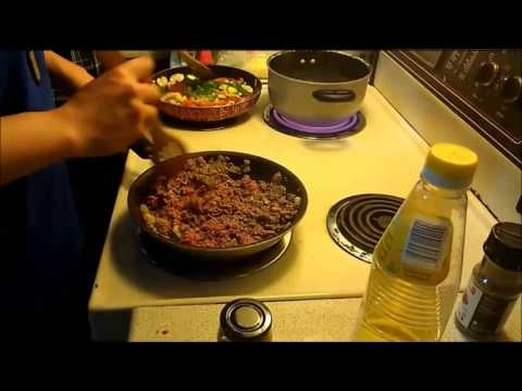 Organic Cooking - Meat sauce Pasta