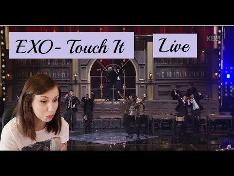 EXO 엑소 - Touch It 너의 손짓 / 2017 KBS Music Festival Reaction