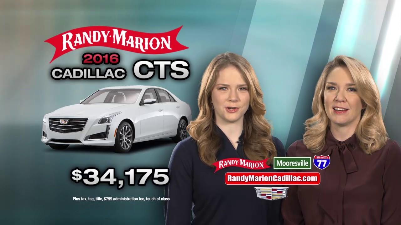 Randy Marion Cadillac Cts Feb Youtube
