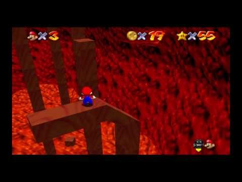 Super Mario 74 Extreme Edition - (3) Deepred Depths - Red+100 Coins [No Save States]