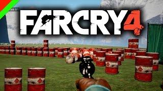 FARCRY4  - กำจัดข้าศึกฉบับเวอร์เกิน (Custom Map,ช็อตเด็ด,ตลกฮา)