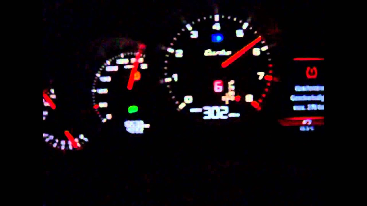 2010 Porsche Panamera Turbo 308 km/h MAX SPEED 308 km/h - YouTube