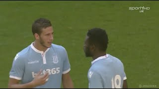 Video Gol Pertandingan Hamburger SV vs Stoke City