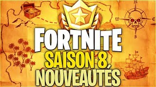 ALL THE NEWS of SAISON 8 on FORTNITE!! (Battle Pass - Trailer)