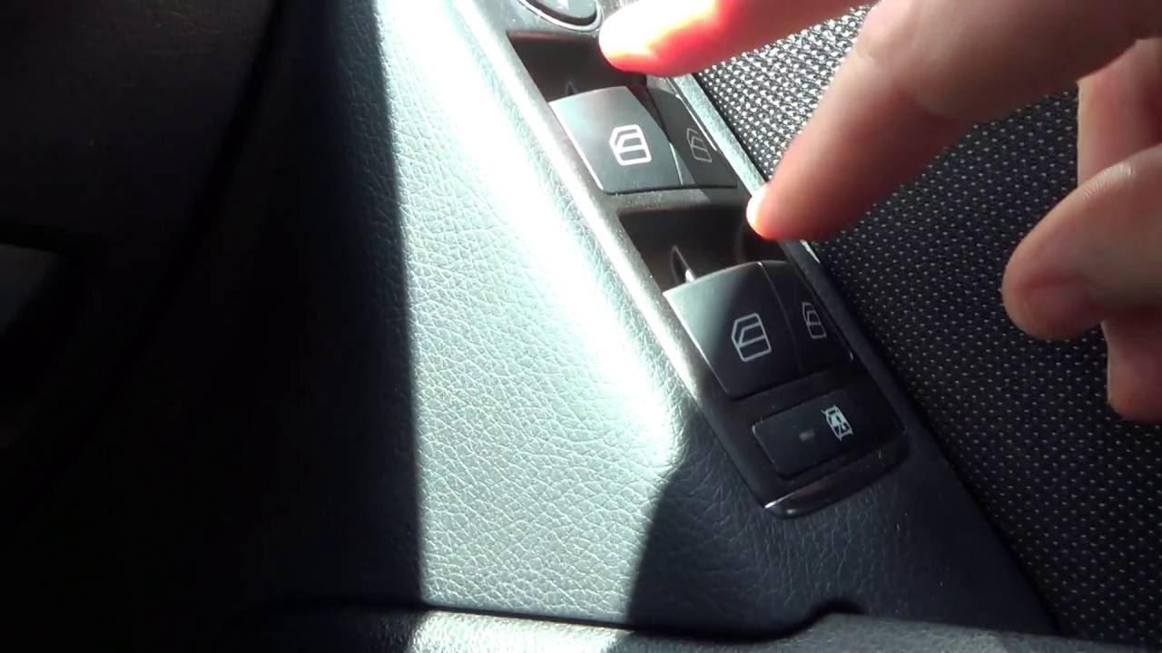 PART 5 Mercedes Benz C class W204 Handy Features - Windows