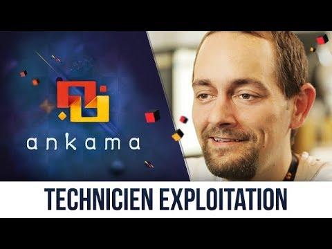 Technicien d'exploitation – Ankama Job