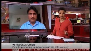 Mercy Corps talks to BBC World News about the Venezuela Crisis - 23rd February 2019