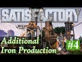Satisfactory Gameplay - New Branch of Iron Production