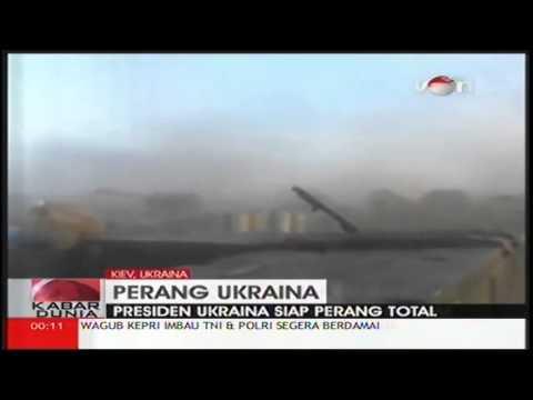 Ukraina Siap Perangi Rusia