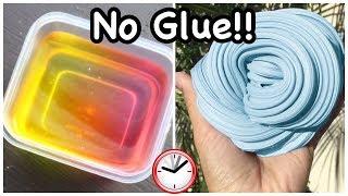 1 Ingredient Slime Recipes!! 💧 Reqขire No Glue Slime Recipes!!