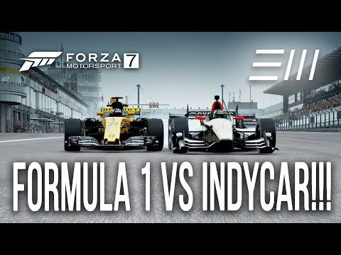 "Renault FORMULA 1 ""F1"" vs Honda ""INDYCAR"" CHALLENGE!!! | Forza 7"