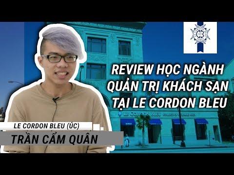 Du học Úc - Review học ngành quản trị khách sạn tại Le Cordon Bleu
