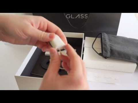 Google Glass Explorer Edition Gets Unboxed (Video)