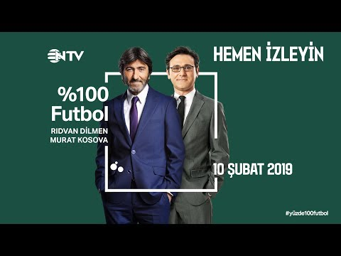 % 100 Futbol Galatasaray - Trabzonspor 10 Şubat 2019