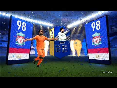 *NEW* TOTS SALAH IN THE GREATEST TOTS EPL PACK OPENING EVER! (FIFA 18)