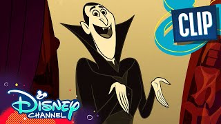 Old Drac's Hotel Song  🎶 | Hotel Transylvania | Disney Channel