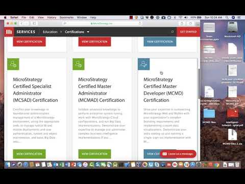 Video Tutorial - How to Choose the Right MicroStrategy Certification ...