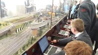 Макет-тренажёр для обучения дежурных по станции и диспетчеров на Детской железной дороге в Ярославле