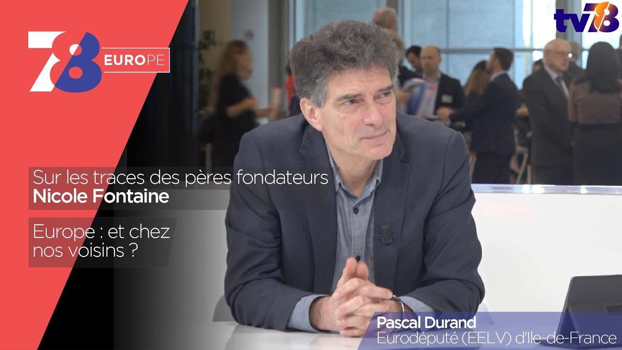 7/8 Europe – émission du 12 janvier 2018 avec Pascal Durand, eurodéputé (EELV) d'Ile-de-France