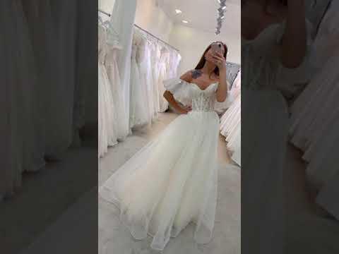 Свадебное платье 2021 Аэлита