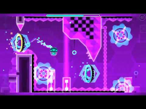 Geometry Dash- Laser Room (Easy Demon) By- True Nature
