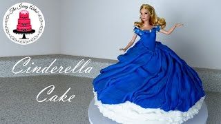 Cinderella's Twirling Dress Cake - How To With The Icing Artist