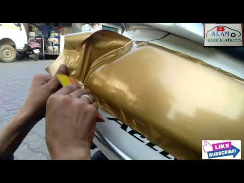 ACTIVA OLD MODEL TAPPING RiMOVE AND NEW WRAPPING NOW