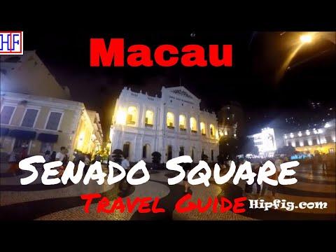 Macau Attraction | Senado Square | TRAVEL GUIDE | Ep# 7