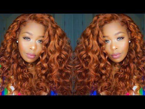 |Detailed|Box Dye & Adore Ginger/Auburn SZA inspired hair ft. West kiss Hair Aliexpress