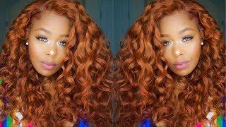  Detailed Box Dye & Adore Ginger/Auburn SZA inspired hair ft. West kiss Hair Aliexpress
