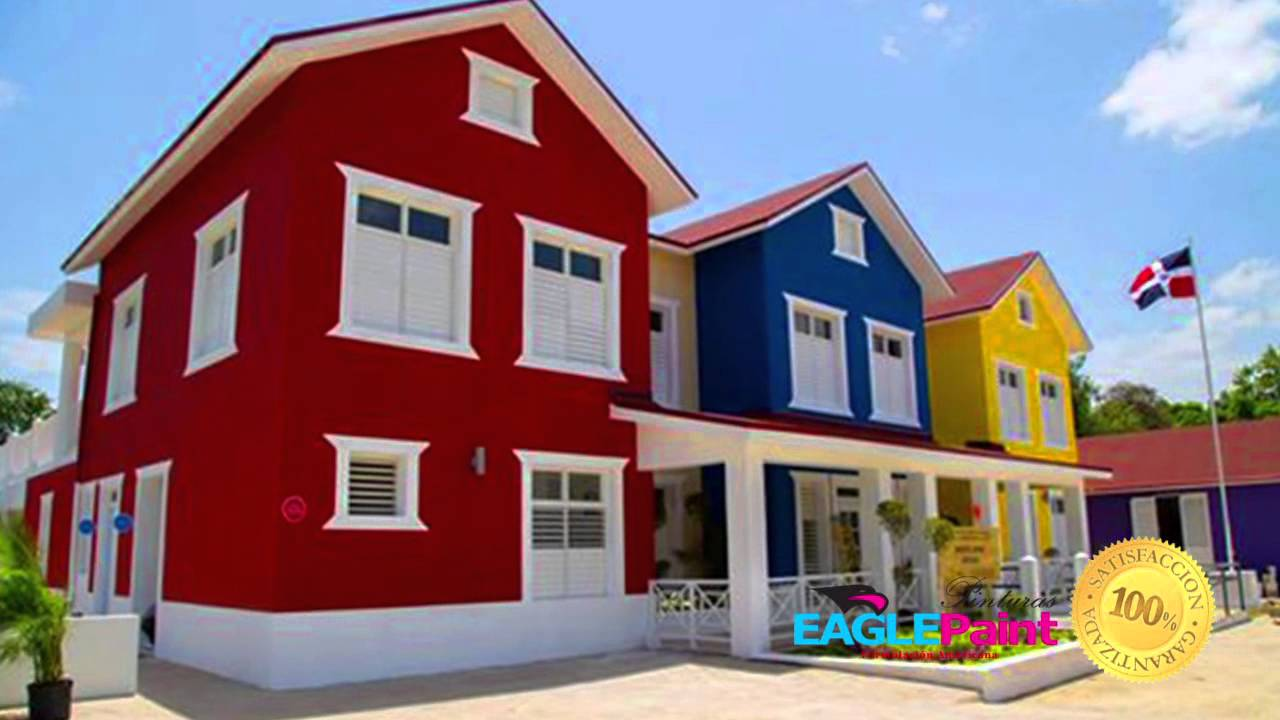 Spot publicitario de pinturas eagle paint youtube for Colores para exteriores de casas 2016