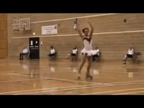 Danielle - Roller Skating Dancers -  Black Swan