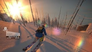 STEEP BETA - UN DIA EN LA NIEVE