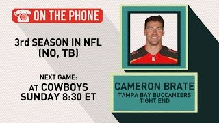 Gottlieb: Cameron Brate talks Buccaneers