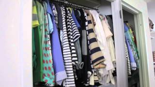 New York City Studio Apartment Tour: The Closets