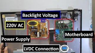 Voltage Distribution Across SAMSUNG LED TV Model No - UA23H4003