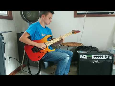 """Darin Clegg Playing """"For The Love Of God"""" By Steve Vai"""