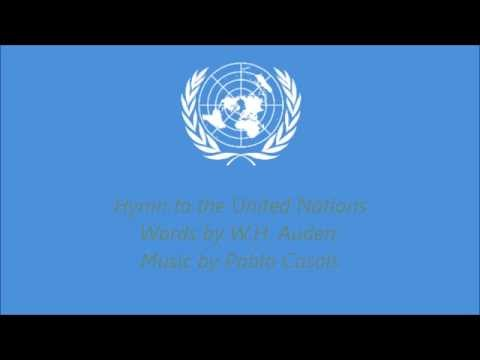 Hymn of the United Nations (with lyrics)