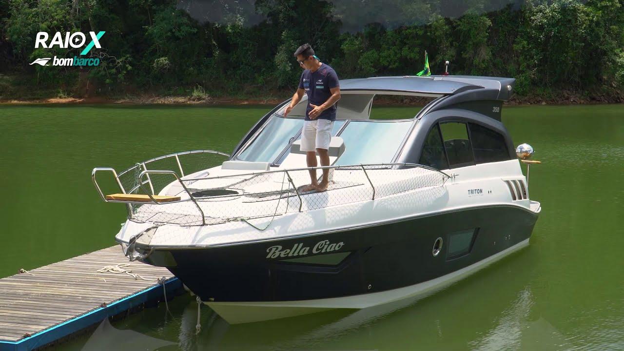 Triton 350 HT: conforto e esportividade no Raio-x Bombarco