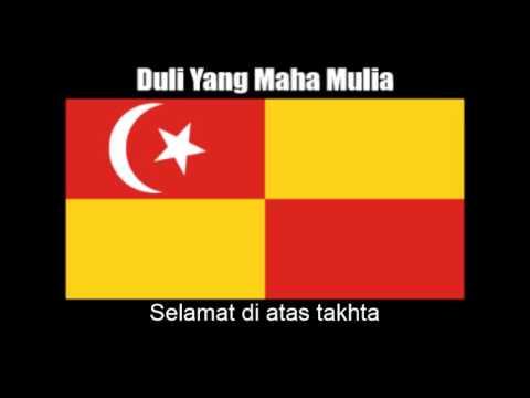 Malaysian State Anthem of Selangor (Duli Yang Maha Mulia) - Nightcore Style With Lyrics