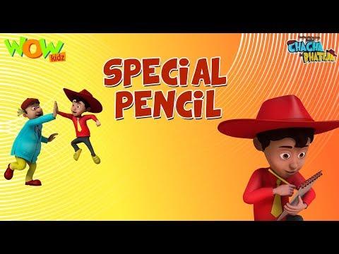 Funniest Cartoon Videos- Special Pencil  Chacha Bhatija