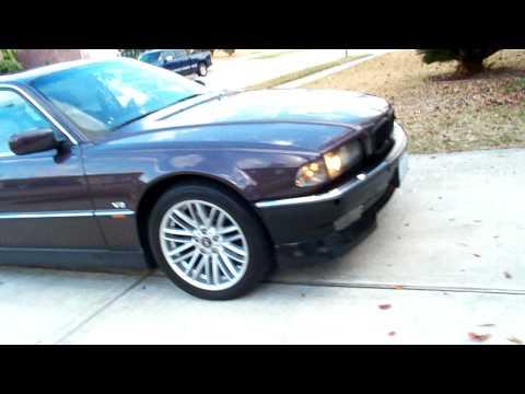 BMW 740 IL Custom Exhaust