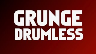 Grunge Rock Backing Track For Drums