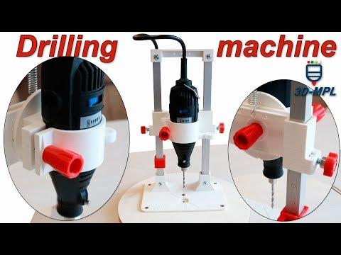 DIY 3D printed Dremel pedestal drill